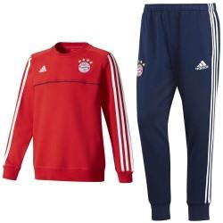 Survetement sweat d'entrainement Bayern Munich 2017/18 - Adidas