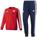 Tuta sweat da allenamento Bayern Monaco 2017/18 - Adidas