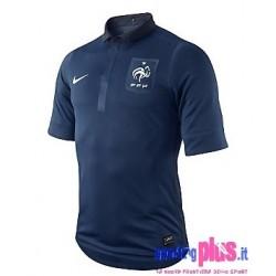 Frankreich National Soccer Trikot Home 11/12 Player Issue für Rennen-Nike