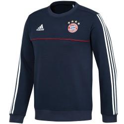 Bayern Munich training sweatshirt 2017/18 navy - Adidas