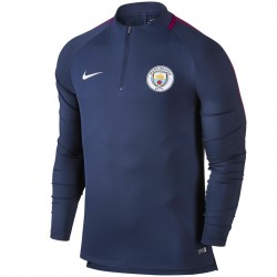 Tech sweat top d'entrainement Manchester City FC 2017/18 - Nike