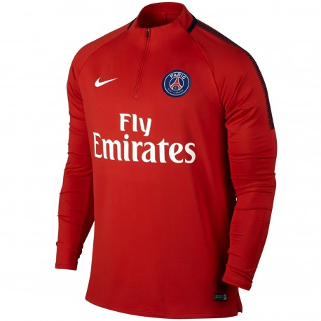 low priced a07eb 082af PSG Paris Saint Germain training technical top 2017/18 ...
