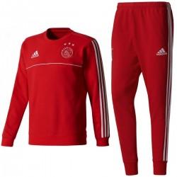 Survetement sweat d'entrainement Ajax 2017/18 - Adidas
