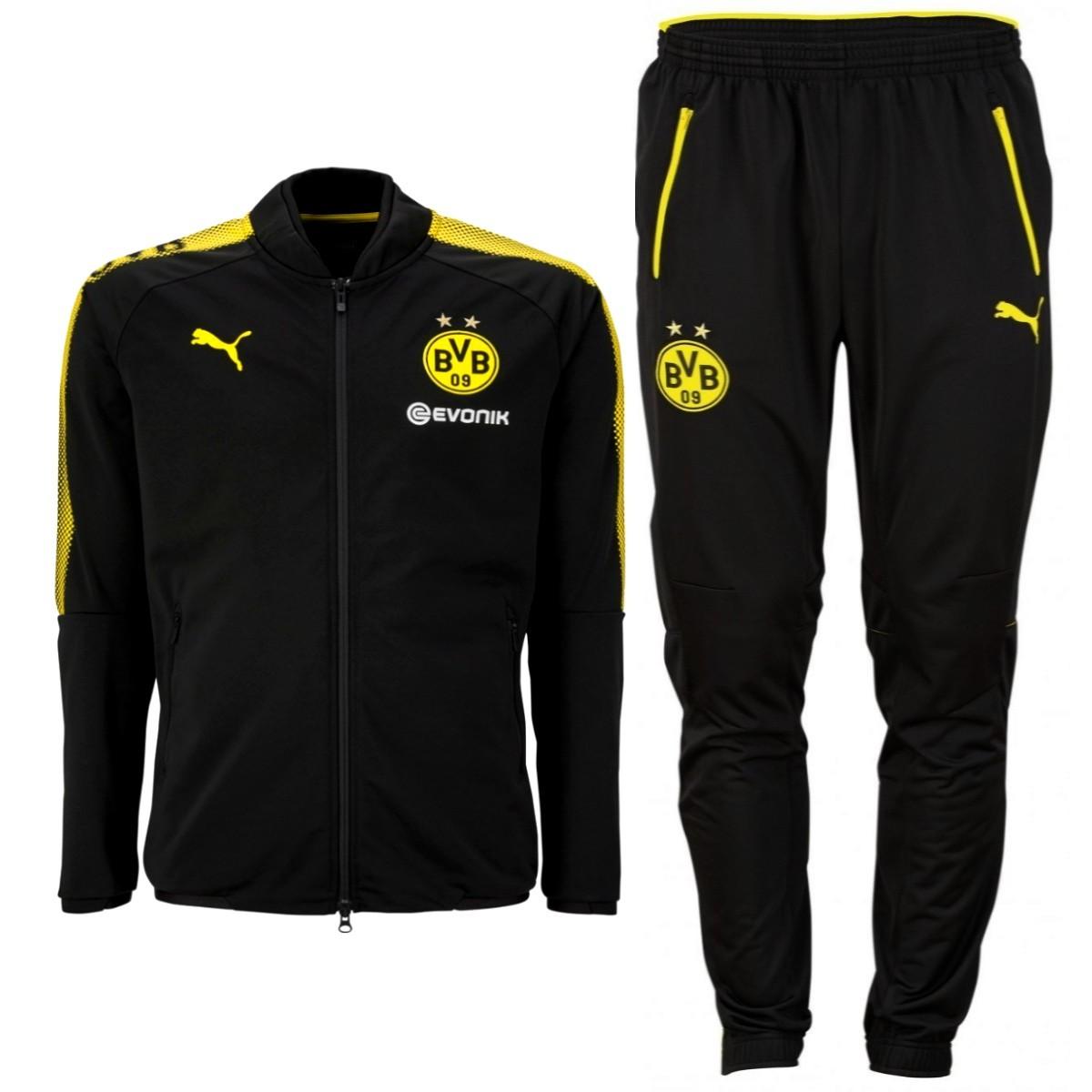 Giacca del Borussia Dortmund da Bambini PUMA con Sponsor Giacche ...