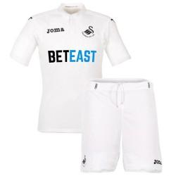 Uniforme de futbol Swansea primera 2016/17 - Joma
