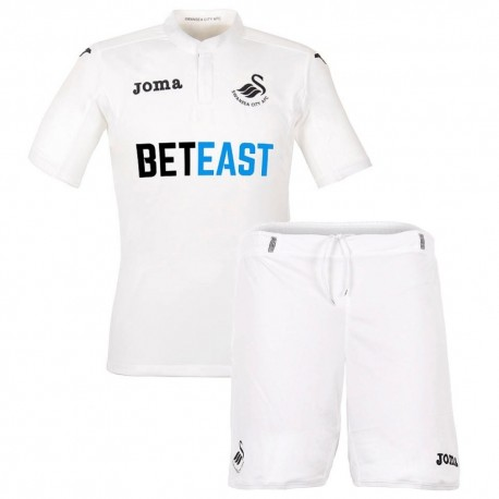 Swansea Home football kit 2016/17 - Joma