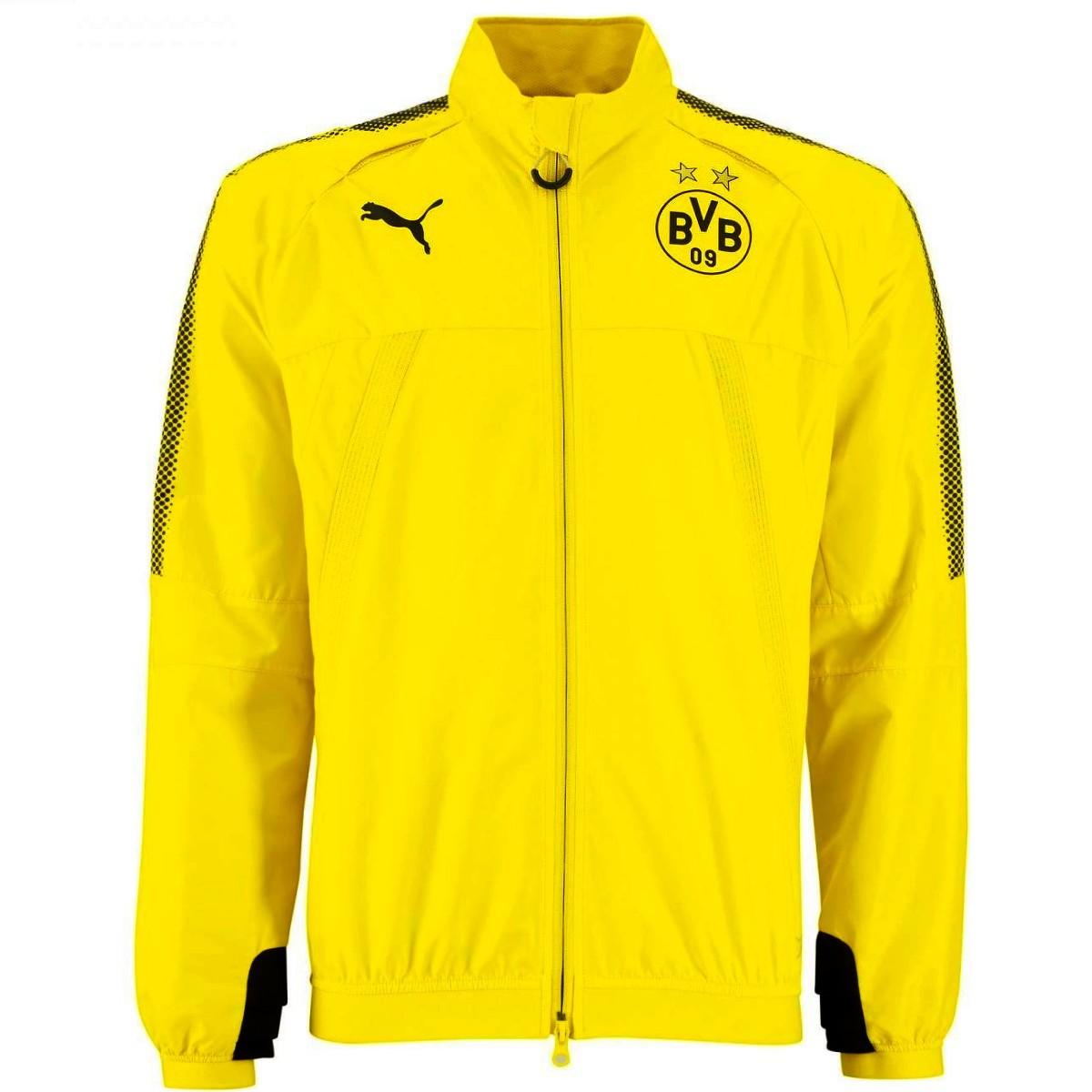 Bvb Borussia Dortmund Training Rain Jacket 2017 18 Puma Sportingplus Net