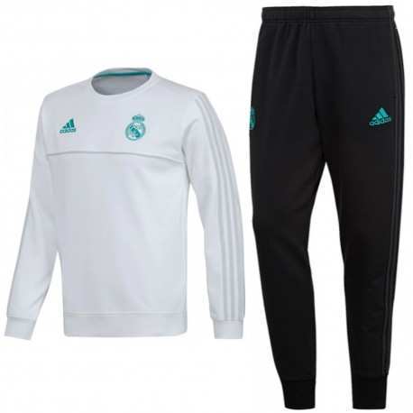 Real Madrid training sweat tracksuit 2017/18 - Adidas