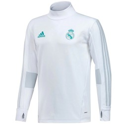 Tech sweat top d'entrainement Real Madrid 2017/18 - Adidas