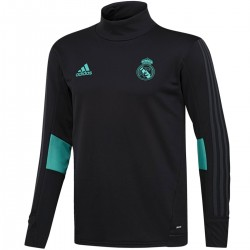 Real Madrid black training technical sweat top 2017/18 - Adidas