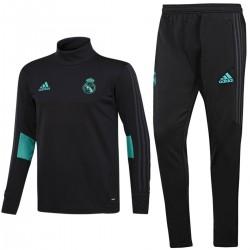 Survetement Tech d'entrainement Real Madrid 2017/18 noir - Adidas