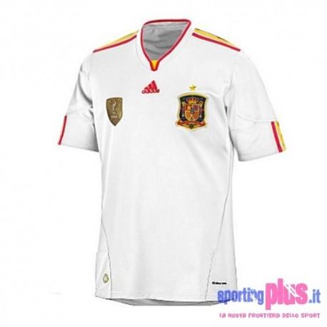 Camiseta de visitante del nacional España 10/12 por Adidas