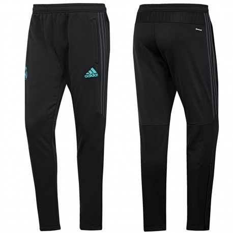 Real Madrid training tech pants 2017/18 black/grey - Adidas