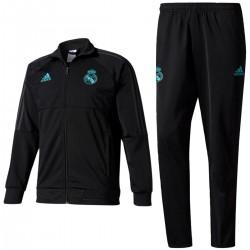 Real Madrid trainingsanzug 2017/18 schwarz - Adidas