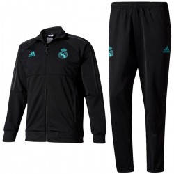 Survetement d'entrainement Real Madrid 2017/18 noir - Adidas
