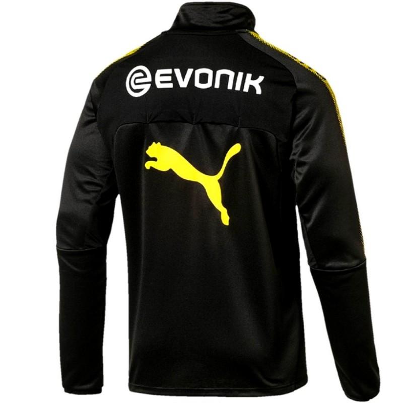 Chandal tecnico entreno Borussia Dortmund 2017 18 negro - Puma ... 8a92eb9a110e9