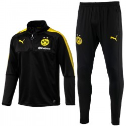 Borussia Dortmund black training technical tracksuit 2017/18 - Puma