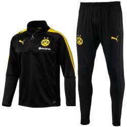Borussia Dortmund BVB tech trainingsanzug 2017/18 schwarz - Puma