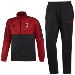 AC Milan red/black training tracksuit 2017/18 - Adidas