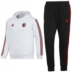 AC Milan casual presentation hooded suit 2017/18 - Adidas