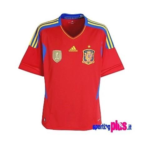 Spanien National Trikot Home 10/12 von Adidas
