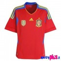 Spain National Jersey Home 10/12 by Adidas