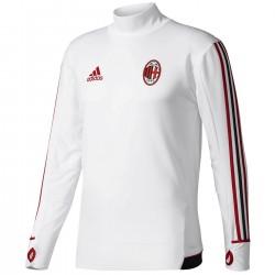 Tech sweat top d'entrainement AC Milan 2017/18 - Adidas