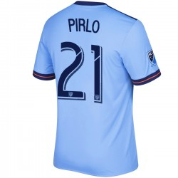 New York City FC Home fußball trikot 2017/18 Pirlo 21 - Adidas