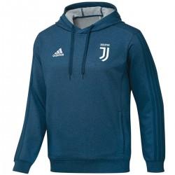 Sweat top casual de presentation Juventus 2017/18 bleu - Adidas