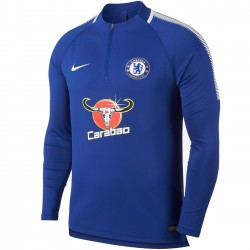 Chelsea FC Tech Trainingssweat 2017/18 blau - Nike