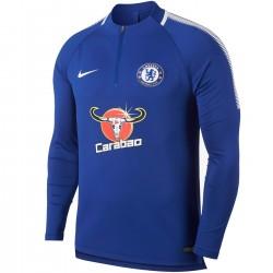 Felpa tecnica allenamento blu Chelsea FC 2017/18 - Nike