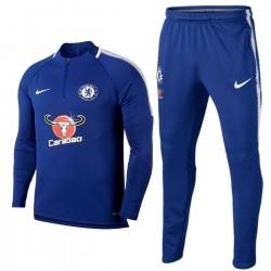 Tuta tecnica allenamento blu Chelsea FC 2017/18 - Nike