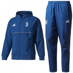 Survetement de presentation Juventus 2017/18 bleu - Adidas