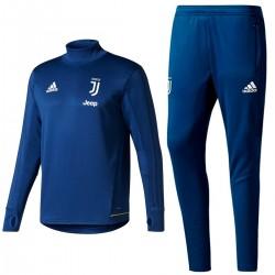 Tuta tecnica da allenamento blu Juventus 2017/18 - Adidas