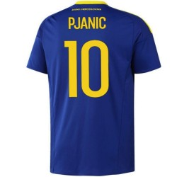 Camiseta de futbol Bosnia y Herzegovina primera 2016/17 Pjanić 10 - Adidas