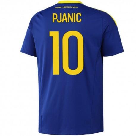Bosnia and Herzegovina football shirt Home 2016/17 Pjanić 10 - Adidas