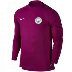 Tech sweat top d'entrainement Manchester City FC 2017/18 violet - Nike