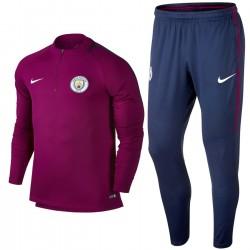 Survêtement tech d'entrainement Manchester City FC 2017/18 violet - Nike