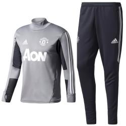 Survetement Tech d'entrainement Manchester United 2017/18 - Adidas