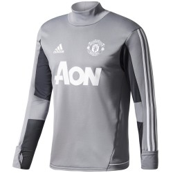 Manchester United grey training tech sweatshirt 2017/18 - Adidas