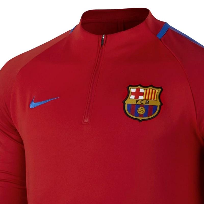 FC Barcelona red training technical top 2017 18 - Nike ... 2f5c88b91