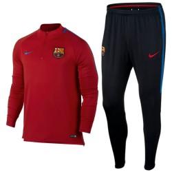 Survêtement tech d'entrainement FC Barcelona 2017/18 rouge - Nike