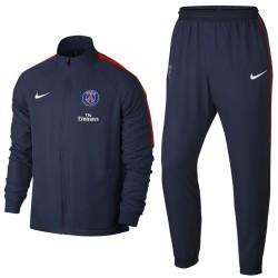 Tuta da rappresentanza blu Paris Saint Germain 2017/18 - Nike
