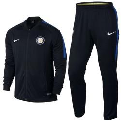 Inter de Milan chandal de presentacion negro 2017/18 - Nike