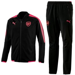 Arsenal pre-match training presentation tracksuit 2017/18 black - Puma