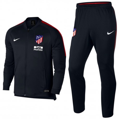 Atletico Madrid black presentation tracksuit 2017/18 - Nike