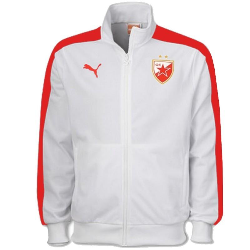 Roter Stern Belgrad Fussball T7 Prasentationsjacke 2016 Puma Sportingplus Net
