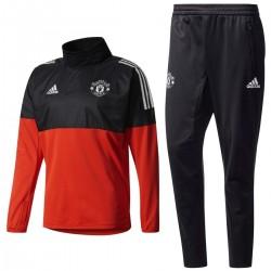 Survetement Tech d'entrainement Manchester United Eu 2017/18 - Adidas