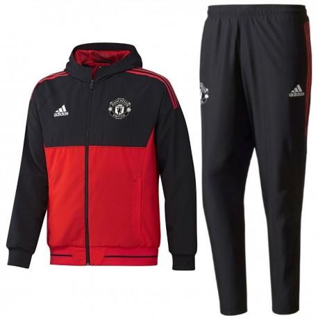 Survetement de presentation Manchester United Eu 2017/18 - Adidas