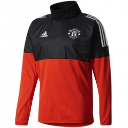 Felpa tecnica da allenamento Manchester United Eu 2017/18 - Adidas